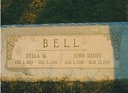 Della M and John Henry BELL