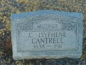 C Isyphene CANTRELL