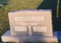Texana P and Henry W Armstrong